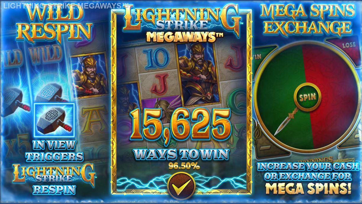 blueprint's lightning strike megaways