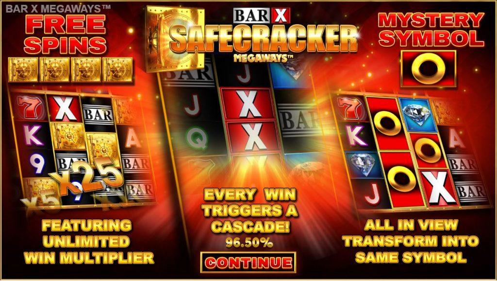 blueprint's bar x safecracker megaways