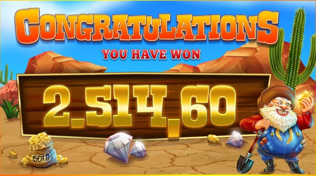 diamond mine megaways big win
