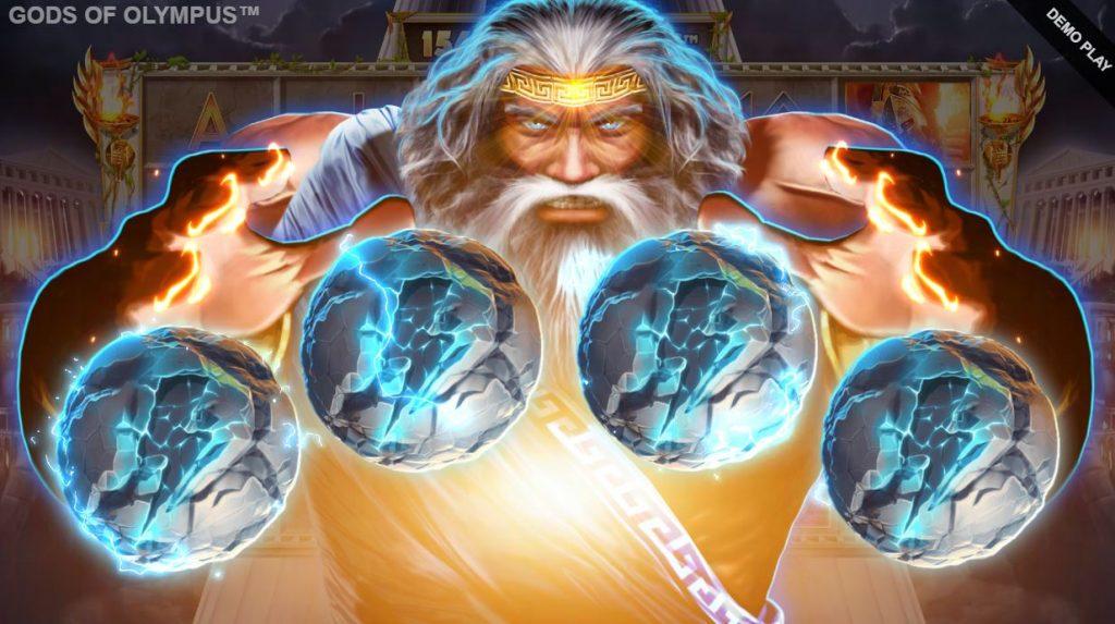 gods of olympus megaways bonus pick