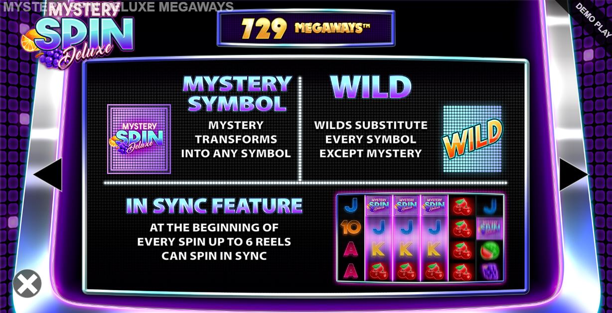 mystery spin deluxe megaways mystery symbol