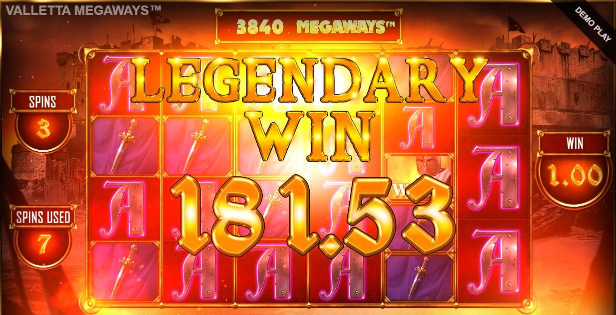 valletta megaways big win