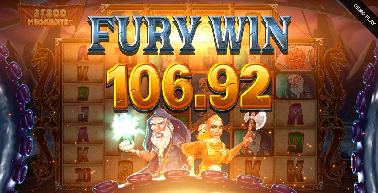 vikings unleashed megaways big win