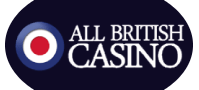 all british casino logo white